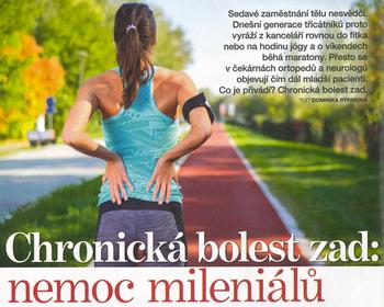 Článek - Chronická bolest zad: nemoc mileniálů